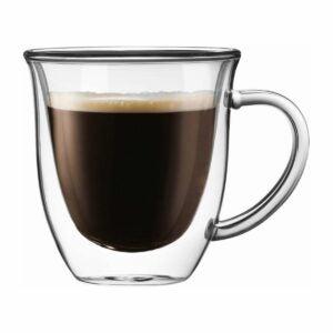 最佳咖啡杯选择:JoyJolt宁静双层隔离咖啡杯