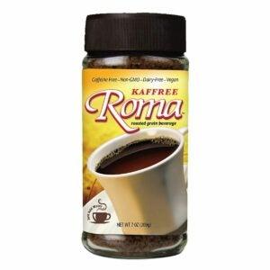 The Best Coffee Substitute Option: Kaffree Roma Roasted Grain Beverage