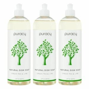 The Best Dish Soap Option: Puracy Dish Soap Natural Liquid Detergent