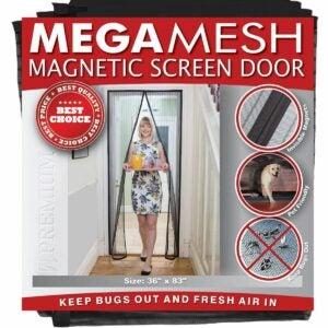 最好的磁屏门选项:Megamesh磁屏门