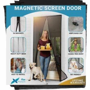 最好的磁屏门选项:助焊剂磁屏门闭合