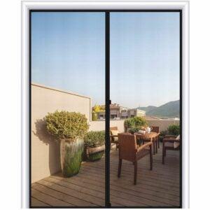 最好的磁屏门选项:Magzo磁屏门尺寸72 x 80