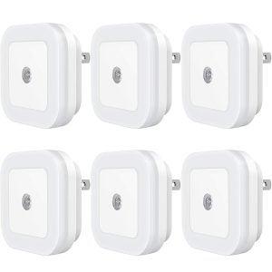 最佳夜灯选择:用Dusk-to-Dawn传感器制作插件LED夜灯,适用于卧室