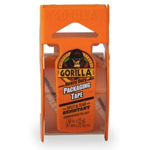 Best Packing Tapes Options: Gorilla Heavy Duty Packing Tape with Dispenser for Moving