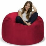 The Best Bean Bag Chairs Option: Chill Sack Bean Bag Chair: 4' Memory Foam Furniture