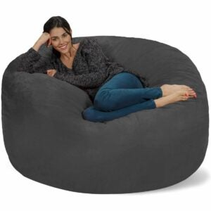 The Best Bean Bag Chairs Option: Chill Sack Bean Bag Chair: 5' Memory Foam Furniture
