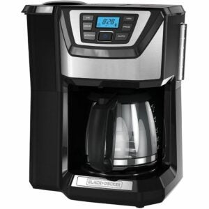 The Best Coffee Maker Option: BLACK+DECKER 12-Cup Mill and Brew Coffeemaker