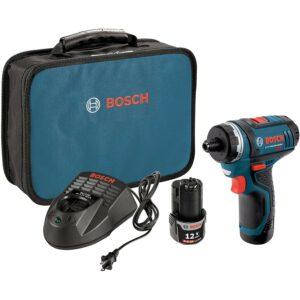 Best Cordless Screwdriver Bosch