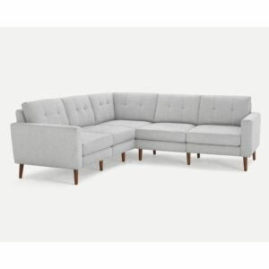 The Best Couches Option: Block Nomad 5-Seat Corner Sectional by Burrow