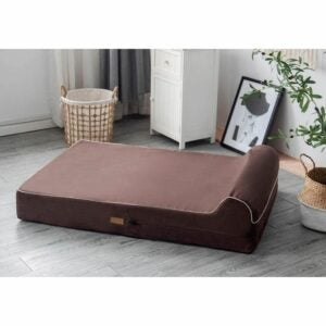 The Best Dog Beds Option: 7-inch Thick High Grade Orthopedic Memory Foam Bed