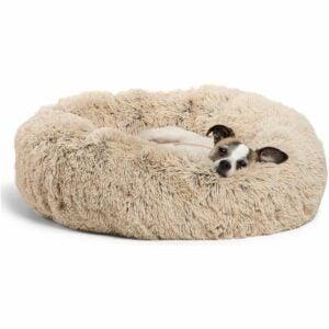 The Best Dog Beds Option: Best Friends by Sheri Calming Shag Donut Cuddler