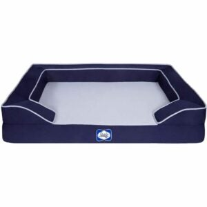 The Best Dog Beds Option: Sealy Lux Quad Layer Orthopedic Dog Bed