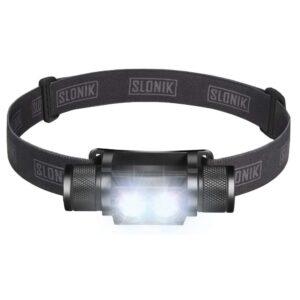 The Best Headlamp Options: Slonik 1000 Rechargeable 2x Lumen CREE LED Headlamp