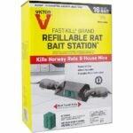 The Best Rat Poison Option: Victor Fast-Kill Brand Refillable Poison Bait Station