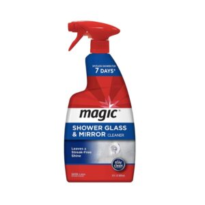 The Best Shower Cleaner Options: Magic Shower Glass & Mirror Cleaner