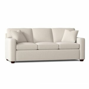 "The Best Sleeper Sofa Option: Lesley 87"" Square Arm Sofa Bed"