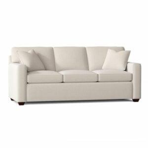 """最好的睡眠机沙发选项:Lesley 87""""Square Arm沙发床"""