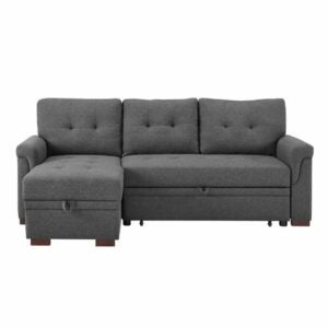 """最好的睡眠机沙发选项:Whitby 96""""可逆沙发和躺椅"""
