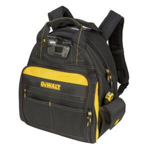 最佳的工具背包选择:DEWALT照明工具背包