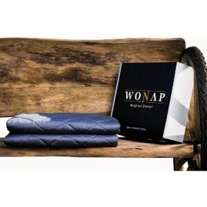 The Best Weighted Blanket Option: Wonap Cooling Weighted Blanket, 100% Natural Bamboo