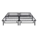 The Best Bed Frame Option: Olee Sleep 14 Inch Foldable Metal Platform Bed Frame