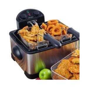 最好的Deep Fryer选项:Secura三篮电动深炸锅