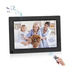 The Best Digital Picture Frame Option: Powerextra 10.1 inch Digital Photo Frame 1280x800