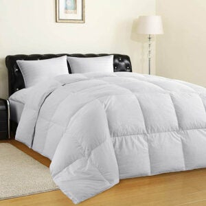 The Best Down Comforter Option: ALLRANGE Clean & Safe Feather and Down Comforter