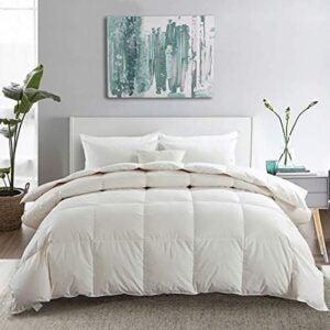 The Best Down Comforter Option: APSMILE Premium Heavyweight Goose Down Comforter