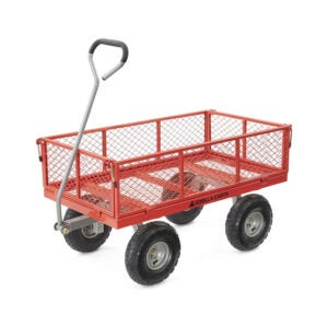 The Best Garden Cart Option: Gorilla Carts GOR800-COM Steel Utility Cart