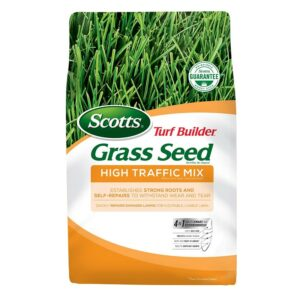 The Best Grass Seed Options: Scotts Turf Builder Grass Seed High Traffic Mix
