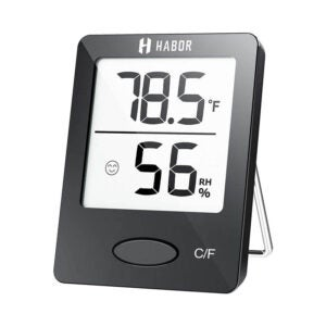 The Best Hygrometer Option: Habor Hygrometer Indoor Thermometer