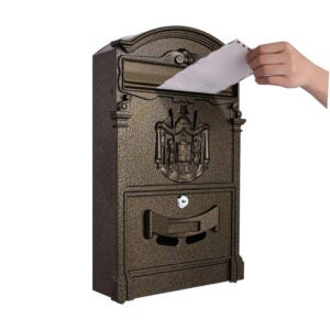 The Best Locking Mailbox Option: Tooluck Wall Mount Mailbox