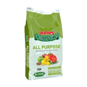 The Best Organic Fertilizer Options: Jobe's Organics 09524 All Purpose Granular Fertilizer