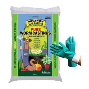 The Best Organic Fertilizer Options: Wiggle Worm 30-lb Worm Castings Organic Fertilizer