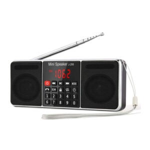 The Best Pocket Radio Option: PRUNUS J-288 AM FM Hands-Free Bluetooth Radio