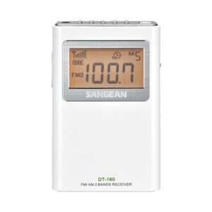 The Best Pocket Radio Option: Sangean DT-160 AM FM Stereo Pocket Radio