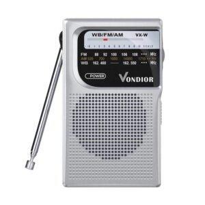 The Best Pocket Radio Option: Vondior NOAA Weather Radio