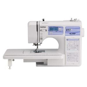 The Best Sewing Machine Option: Brother HC1850 Sewing and Quilting Machine