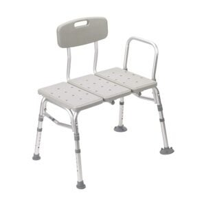 The Best Shower Chair Option: Drive Medical Plastic Tub Transfer Bench