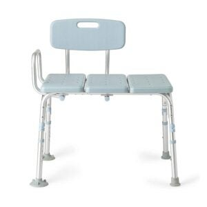 The Best Shower Chair Option: Medline Antimicrobial Tub Transfer Bench