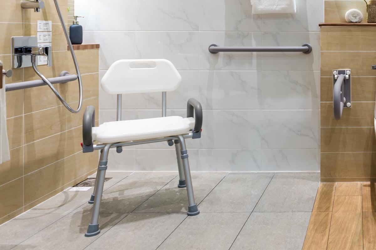The Best Shower Chairs For Safety In The Bathroom Bob Vila