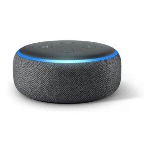 The Best Smart Smoke Detector Option: Amazon Echo Dot