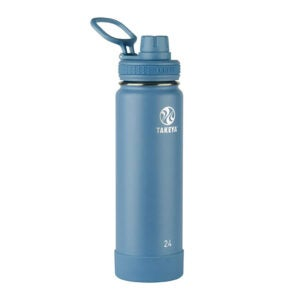 The Best Stainless Steel Water Bottle Option: Takeya Actives Insulated Water Bottle w Spout Lide