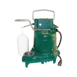 The Best Sump Pump Option: Zoeller M53 Mighty-mate Submersible Sump Pump, 1/3 Hp