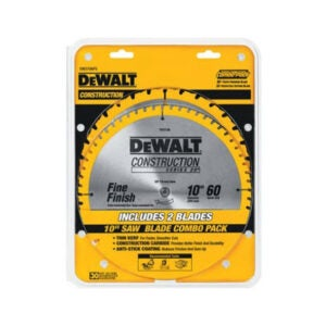 The Best Table Saw Blade Option: DEWALT 10-Inch Miter Table Saw Blades