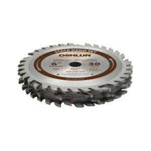 最好的桌子锯片选项:欧沙SDS-0630 6英寸30齿堆达Dado套装