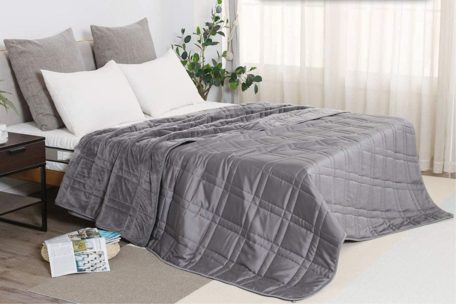 The Best Weighted Blanket For A Good Night S Sleep Bob Vila