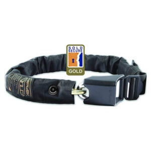 The Best Bike Lock Option: Hiplok Gold Wearable Chain Lock
