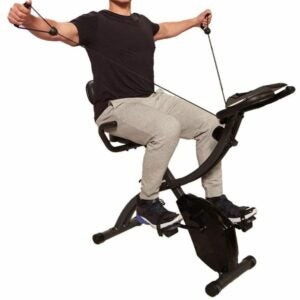 The Best Exercise Bike Option: Original As Seen On TV Slim Cycle Stationary Bike